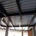 Çelik ve demir işleri Çatı